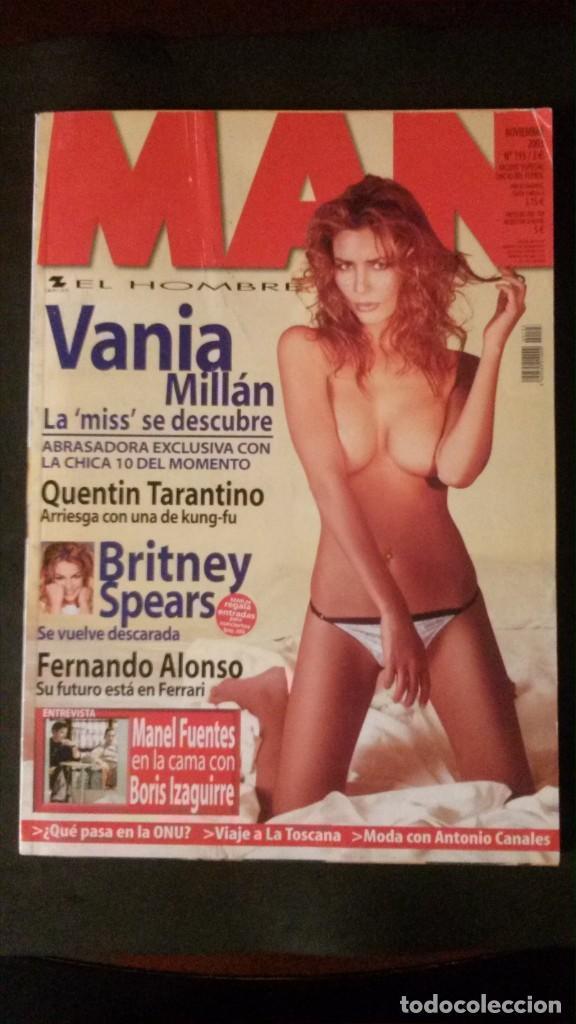 MAN 193-MISS ESPAÑA-DITA VON TEESE-BRITNEY SPEARS-SERRAT-KEIRA KNIGHTLEY-TARANTINO-FERNANDO ALONSO (Coleccionismo para Adultos - Revistas)