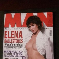 Revistas: MAN 198-ELENA BALLESTEROS-GEORGE MICHAEL-ASHLEY JUDD-AIDA YESPICA-GEORGE CLOONEY-ALICIA KEYS-BEYONCÉ. Lote 244560325