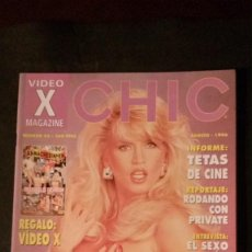 Revistas: CHIC Nº 45-AMBER LYNN-HISTORIA DEL PORNO-ZENA FULSOM-GAIL FORCE-STEPHANIE SWIFT-MONIQUE DEMOAN. Lote 244591040