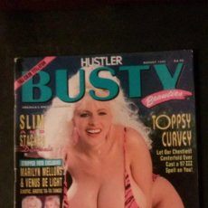 Revistas: HUSTLER-BUSTY BEAUTIES-1991-TOPPSY CURVEY-SARAH YOUNG-TRACEY NEVE-KASCHA-MARILYN MELLONS. Lote 244603390