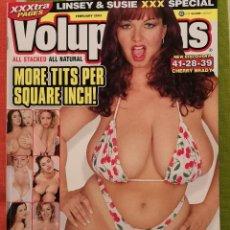 Revistas: REVISTA VOLUPTUOUS - INGLES - 2003 FEBRERO - LINSEY DAWN MCKENZIE INTERIOR. Lote 244637050