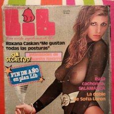 Revistas: REVISTA LIB - ESPAÑOL - 1979 DICIEMBRE. Lote 244638930