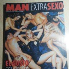 Revistas: REVISTA MAN EXTRA SEXO. SUPLEMENTO Nº 201. Lote 245214065