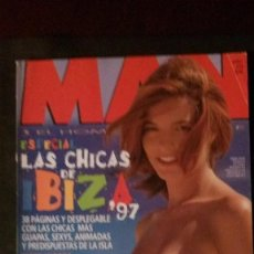 Magazines: MAN Nº 118-LAS CHICAS DMAE IBIZA-MILLA JOVOVICH-CHEMICAL BROTHERS-TIGER WOODS-MIGUEL BOSE-SPIELBERG. Lote 245215420