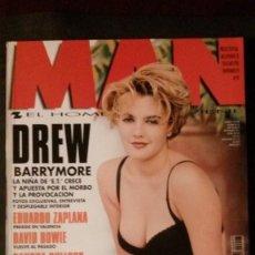 Revistas: MAN Nº 97-DREW BARRYMORE-GIORGIO ARMANI-MONICA SELES-DAVID BOWIE-SANDRA BULLOCK-ALEX DE LA IGLESIA. Lote 245215690