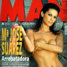 Revistas: MAN Nº 203, Mª JOSE SUAREZ, NATALIA VERBEKE, ESPECIAL CHICAS CHECAS, TOM HANKS. Lote 245215820