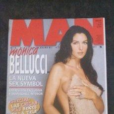 Revistas: MAN 160-MÓNICA BELLUCCI-MÓNICA HOYOS-JOSÉ MERCÉ-BENICIO DEL TORO-SILVIA ABASCAL-ROBBIE WILLIAMS. Lote 245216750