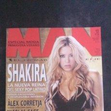Revistas: MAN 186-SHAKIRA-ALEX CORRETJA-PAINTBALL-LA CABRA MECÁNICA-MANUELA ARCURY-COLDPLAY-NOELIA CASTAÑO. Lote 245216940