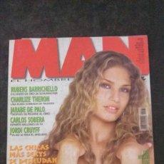 Revistas: MAN 161-ESPECIAL BRASILEÑAS-JARABE DE PALO-CHARLIZE THERON-JORDI CRUYFF-RUBENS BARRICHELLO. Lote 245217040