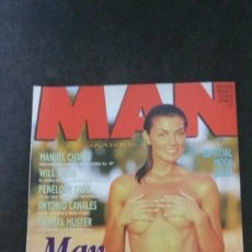 Revistas: MAN Nº 107-CARMEN CERVERA-MAR FLORES-MECANO-WILL SMITH-JOAQUÍN SABINA-VALERIA MARINI-PENELOPE CRUZ. Lote 245393325