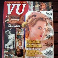 Revistas: VU STAR /LAS FAMOSAS DESNUDAS, LEE LA DESCRIPCION, ELSA PATAKY, URSULA ANDRESS, VICTORIA ABRIL. Lote 245626870