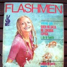 Revistas: FLASHMEN Nº 10 / FELIX RODRIGUEZ DE LA FUENTE, ALENA PENZ, CASINO DE PARIS, ANTONIO GALA, BOXEO. Lote 245635015