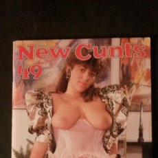 Revistas: NEW CUNTS # 49-COLOR CLIMAX CORPORATION-MAY 1987. Lote 245721850