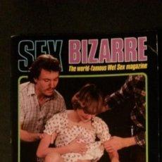 Revistas: SEX BIZARRE # 30-COLOR CLIMAX CORPORATION-JUNE 1981. Lote 245723050