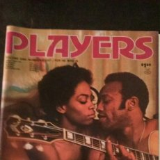Revistas: PLAYERS-JANUARY 1975-VOL 1 Nº 8-BLACK PEOPLE-BOBBY WOMACK-RASTAFARI-REGGAE-BLACK CULTURE. Lote 245919410