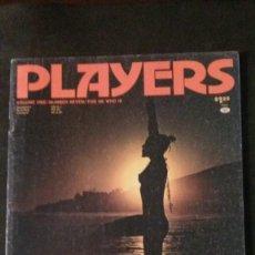 Revistas: PLAYERS-NOVEMBER 1974-VOL 1 Nº 7-BLACK PEOPLE-LOU SMITH-SYREETA-STEVIE WONDER-BLACK CULTURE. Lote 245919470