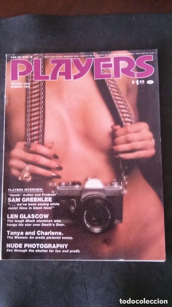 PLAYERS-JULY 1975-VOL 12 Nº 2-EARL FATHA HINES-SAM GREEN LEE-ARTHUR ASHE-BLACK PLEOPLE-BLACK CULTURE (Coleccionismo para Adultos - Revistas)