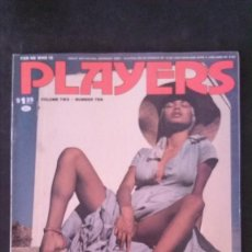 Revistas: PLAYERS-MARCH 1976-VOL 2 Nº 10-JAMES EARL JONES-THE POINTER SISTERS-THE MIRACLES-BLACK PEOPLE. Lote 245919680