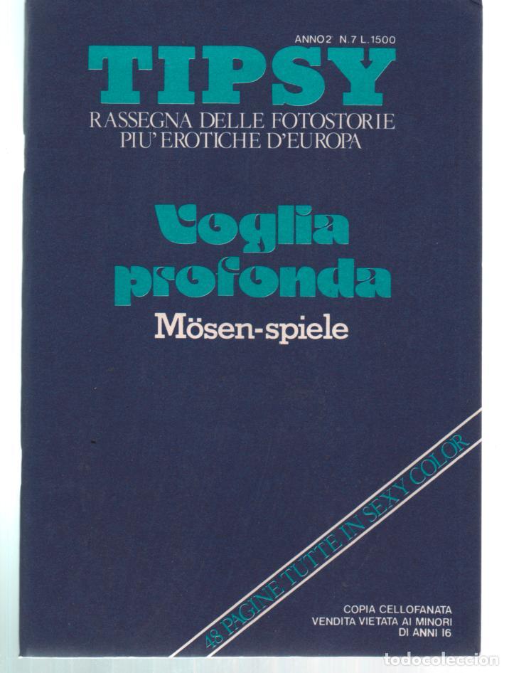 TIPSY Nº 7 VOGLIA PROFONDA. ADULT PORN CONTENT. VINTAGE (Coleccionismo para Adultos - Revistas)