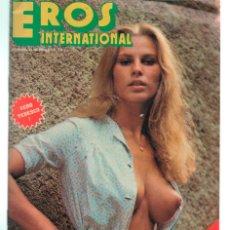 Revistas: EROS INTERNATIONAL Nº 16 ADULT PORN CONTENT . 1976. Lote 245939210