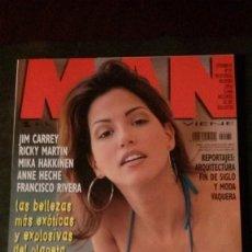 Revistas: MAN 131-ESPECIAL CARIBEÑAS-RICKY MARTIN-PAULINA GÁLVEZ-JIM CARREY-ANNA KOURNIKOVA-PAULA VÁZQUEZ. Lote 245947400