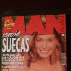 Revistas: MAN 158-ESPECIAL SUECAS-LOS ANGELES DE CHARLIE-BJÖRK-KEANU REEVES-REBECCA DORFF-ESTOPA. Lote 245947510