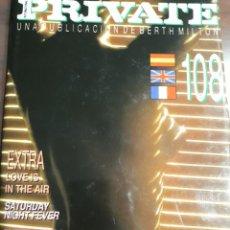 Revistas: REVISTA PRIVATE NÚMERO 108. Lote 245981220