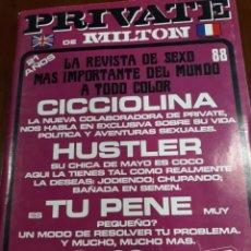 Revistas: REVISTA PRIVATE NÚMERO 88. Lote 245983305