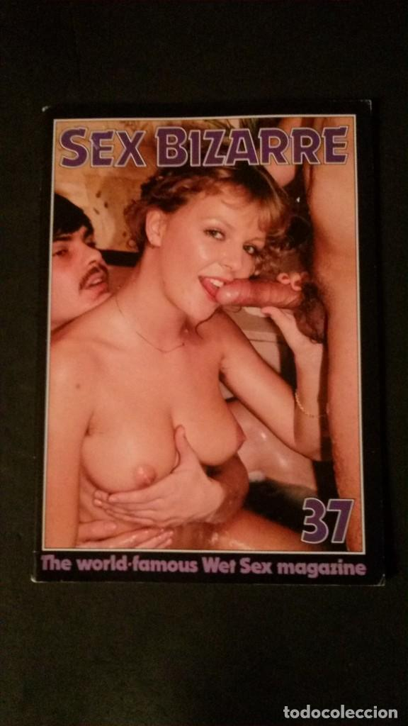 SEX BIZARRE # 37-COLOR CLIMAX CORPORATION-JUNE 1984 (Coleccionismo para Adultos - Revistas)