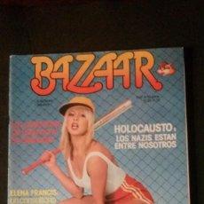 Revistas: BAZAAR 28-SUSANA ESTRADA-HOLOCAUSTO NAZI-LASSALVY-SUPERMAN-MIKE OLDFIELD-PACO UMBRAL-ELVIS PRESLEY. Lote 246159820