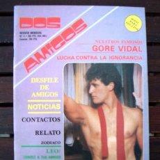 Revistas: REVISTA EROTICA GAY DOS AMIGOS Nº 5 / JULIO 1987. Lote 246238915