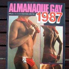 Revistas: REVISTA EROTICA GAY ALMANAQUE 1987 / VISADO / CODIGO 4. Lote 246239620