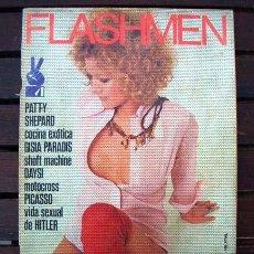 Revistas: REVISTA FLASHMEN Nº 11 / MOTO CROSS, GISIA PARADIS, PATTY SHEPARD, HITLER, DIAZ PLAJA / 1973. Lote 246241350