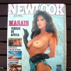 Revistas: REVISTA EROTICA NEWLOOK Nº 37 / HELICOPTEROS EMS, BUMERANGS, MASSAI, CAÑON DEL COLORADO. Lote 246242070