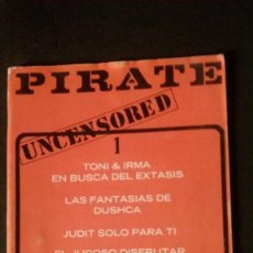 Revistas: PIRATE # 1-PRIVATE MILTON-1978-JENNIFER ECCLES-DUTCH DUSHCA. Lote 246308315
