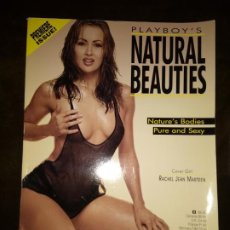 Revistas: PLAYBOY - NATURAL BEAUTIES - 1998 - IMPORTADO USA. Lote 246355245