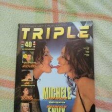 Revistas: REVISTA PARA ADULTOS TRIPLE X N° 40. Lote 246485930