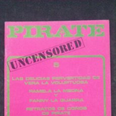 Revistas: PIRATE # 5-PRIVATE MILTON-1978. Lote 246502165
