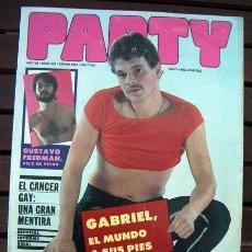 Revistas: REVISTA EROTICA GAY PARTY Nº 239 / LINA MORGAN. Lote 246528525