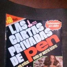 Revistas: LAS CARTAS PRIVADAS DE PEN Nº 60-NUEVA EPOCA. Lote 251230570