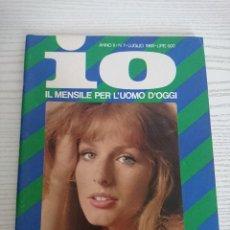 """Revistas: VINTAGE MAGAZINE """"IO"""" N.7 JULY 1968-JEANNETTE CAMUS,BETTINA BRENNA,FRANCIE RHEIN. Lote 253120535"""