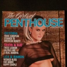 Revistas: THE GIRLS OF PENTHOUSE-ADRIANA SAGE & NACHO VIDAL-LEA MARTINI & RAMÓN NOMAR. Lote 254436555