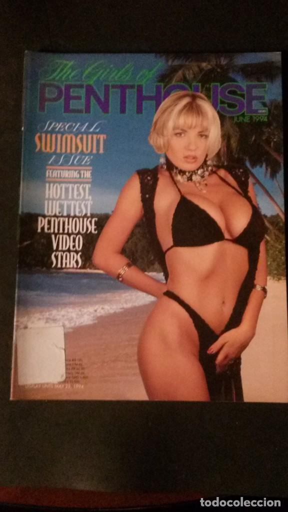 THE GIRLS OF PENTHOUSE-JULIE SMITH-GINA LAMARCA-NATHALIE SMITH-SAM PHILLIPS-SEANA RYAN (Coleccionismo para Adultos - Revistas)