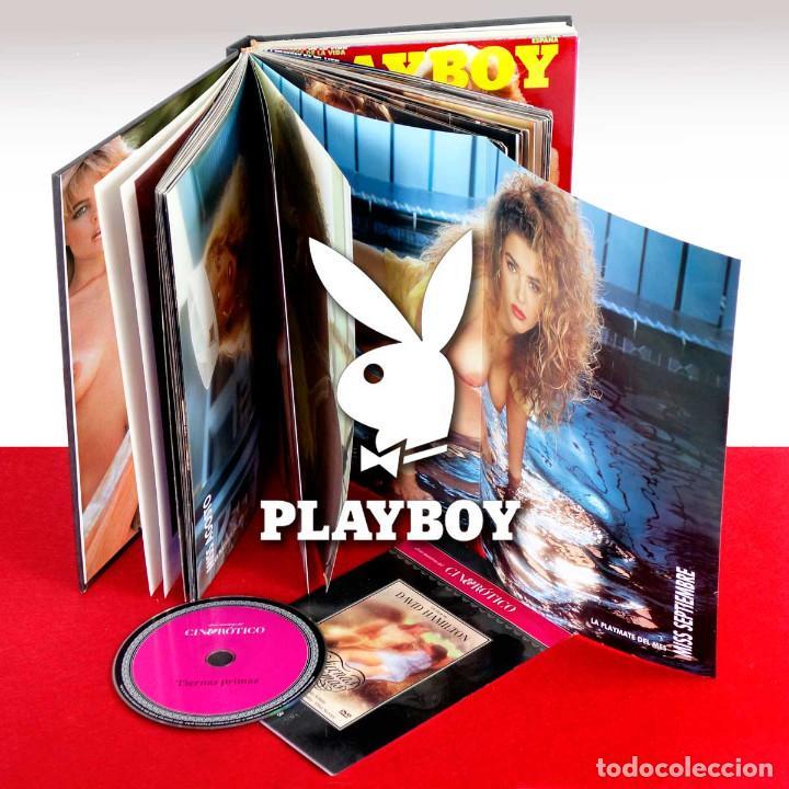 PLAYBOY TOMO COLECCIONISTAS CON POSTERS, COMICS, PORTADAS, ETC. AÑOS 90. REGALO DVD ERÓTICO (Coleccionismo para Adultos - Revistas)
