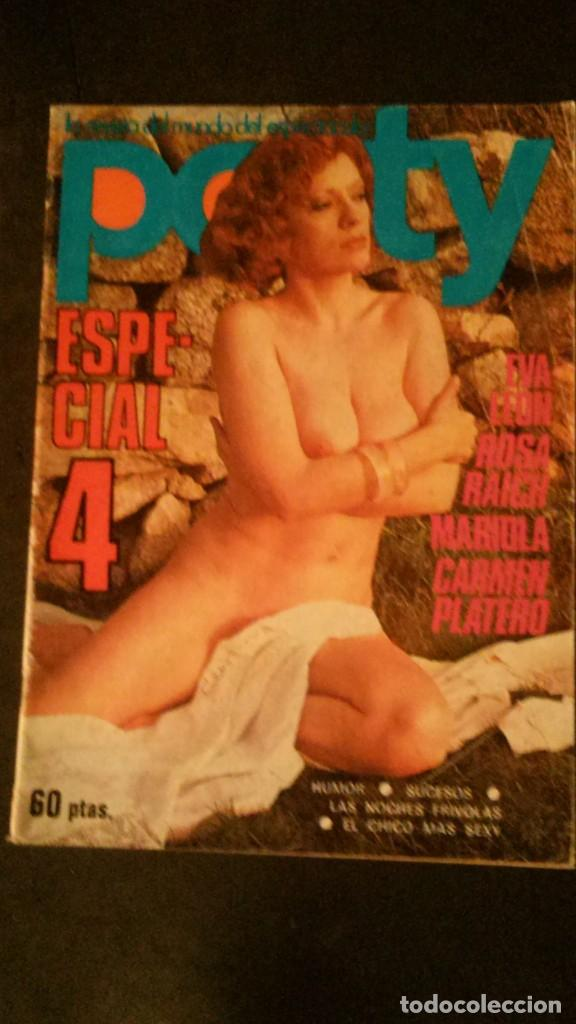 PARTY-ESPECIAL 4-EVA LEÓN-LASSALVY-GAY-CARMEN PLATERO-ROSA RAICH-CASTELLDEFELS (Coleccionismo para Adultos - Revistas)