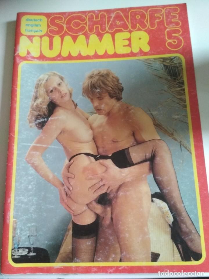 SCHARFE NUMMER 5. (Coleccionismo para Adultos - Revistas)