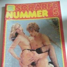 Revistas: SCHARFE NUMMER 5.. Lote 257384640
