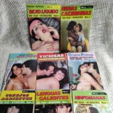 Revistas: TODO COLOR INTERNACIONAL - LOTE DE 8 EJEMPLARES ( REVISTAS EROTICAS AÑOS 90 ). Lote 288955978