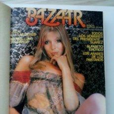 Revistas: REVISTAS BAZAAR ENCUADERNADAS (Nº1 AL 6) - AÑO 1977 - REVISTAS PARA ADULTOS - ANTIGUAS. Lote 257911390