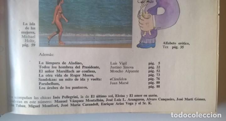 Revistas: REVISTAS BAZAAR ENCUADERNADAS (Nº1 AL 6) - AÑO 1977 - REVISTAS PARA ADULTOS - ANTIGUAS - Foto 19 - 257911390